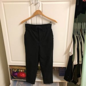Zara high waisted trousers with pockets